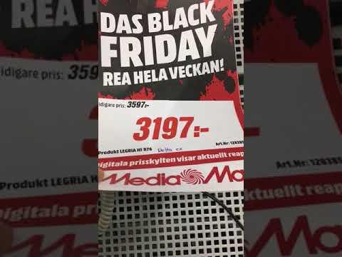 Black Friday lies in Sweden