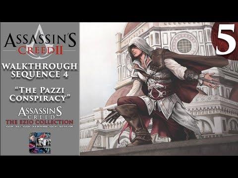 """Assassin's Creed 2 - Walkthrough - Part 5 - Sequence 4 """"The Pazzi Conspiracy"""" (Ezio Collection)"""