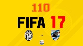 Fifa 17 | Modo Carrera Mánager | #110 Juventus vs Sampdoria