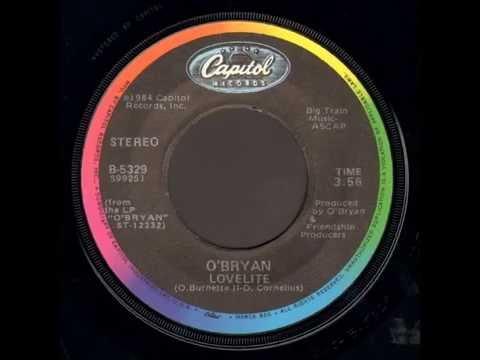 """O'Bryan - Lovelite (7"""" version - from Vinyl!) (1984)"""