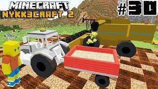 Minecraft RILASCIO LA MIA MOD STILE FARMING SIMULATOR #30 - ITA NYKK3CRAFT S2 MOD