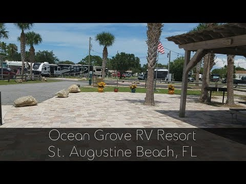 Ocean Grove RV Resort St Augustine FL