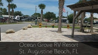 Ocean Grove RV Resort St Augustine FL
