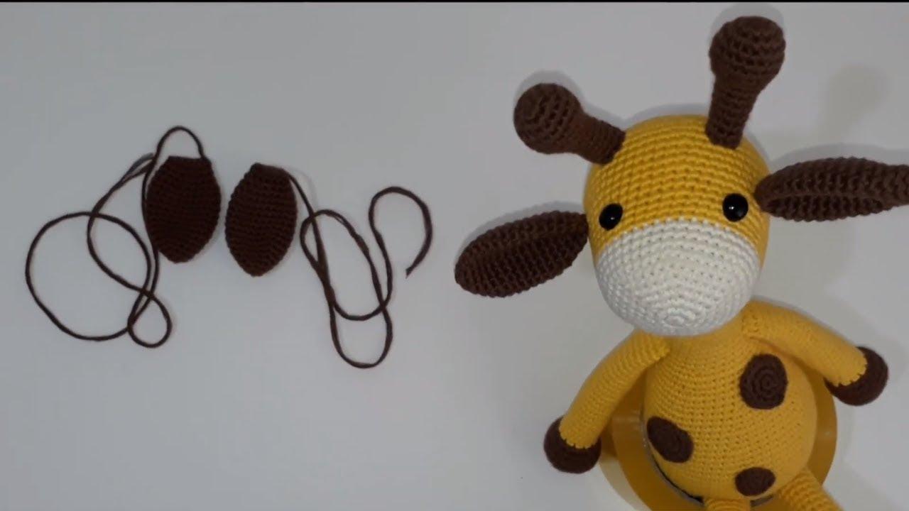 Amigurumi Örgü Oyuncak Tavşan 3 ( Kol & Kulak) Amigurumi Crochet ... | 720x1280