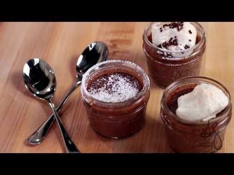 Andrew Zimmern Cooks: Chocolate Pot De Creme
