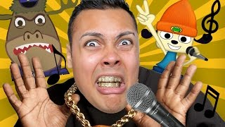RAP BATTLE THE GAME (Parappa The Rapper PS4)