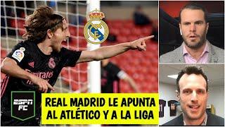 ANÁLISIS Real Madrid GANÓ y le mete presión al Atlético de Madrid. ¿Le ganará La Liga? | ESPN FC