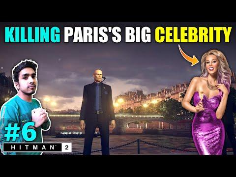 CORRUPT LADY FOUND IN PARIS'S FASHION SHOW   HITMAN 2 GAMEPLAY #6
