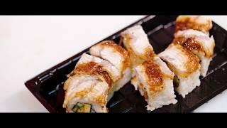 видео доставка суши