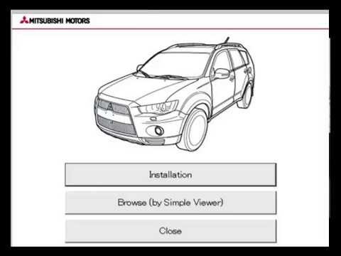2010 mitsubishi outlander repair manual pdf