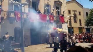 La Desfilada i balls - Les Santes 2017 Mataró -