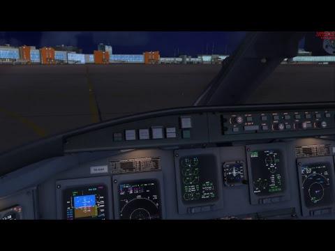 FSX   Bombardier CRJ-900ER   Adria Airways JP914   LJLJ - UUEE   VATSIM