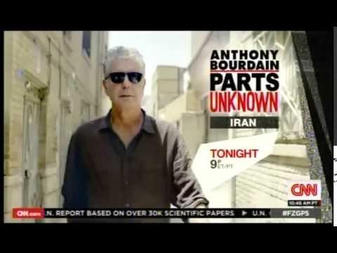 Anthony  Bourdain trip to Iran, Fareed Zakaria interviews Bourdain