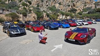 Chasing the $100m Pagani Rally in My Ford GT!
