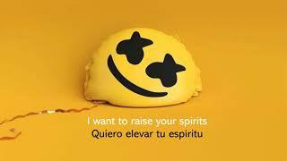 Marshmello Ft. Bastille - Happier ( Lyrics & Sub Español )
