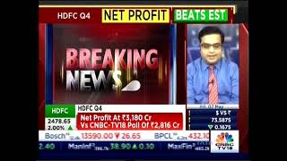 Review of HDFC Ltd.'s Q4FY20 results by Mr. Kunal Shah, Analyst, ICICIdirect, on CNBC TV18