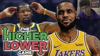 NBA Trivia - Higher or Lower Challenge (Career Avg)   Kristopher London