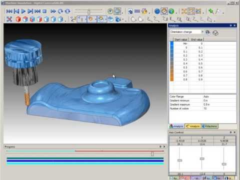 SURFCAM Tutorial - Machine Simulation: Analysis, Part 2