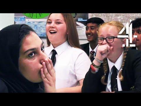 School Kid's SURPRISED When Revealing Racial Stereotypes | The Great British School Swap