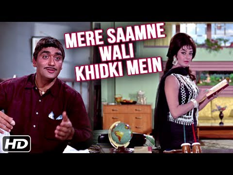 Mere Samne Wali Khidki Mein (HD) | Padosan...