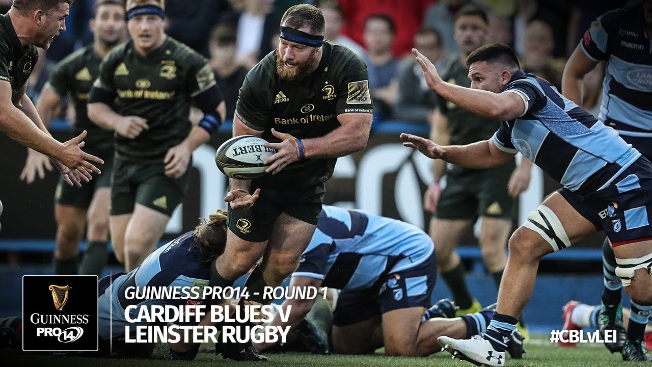 5963965d465 Cardiff Blues v Leinster Rugby, Guinness Pro 14 2018/19 | Ultimate Rugby  Players, News, Fixtures and Live Results