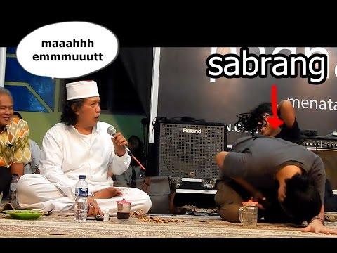 Cak Nun dan Sabrang letto saling adu Argumentasi dan saling Membalas