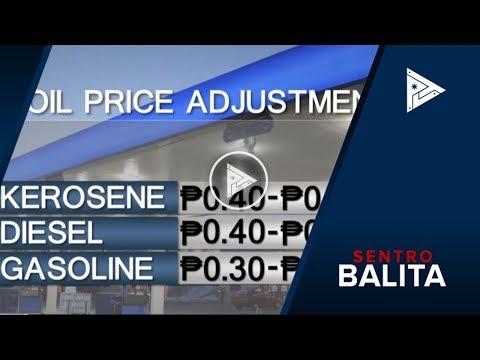 Oil price hike, nakaamba ngayong linggo