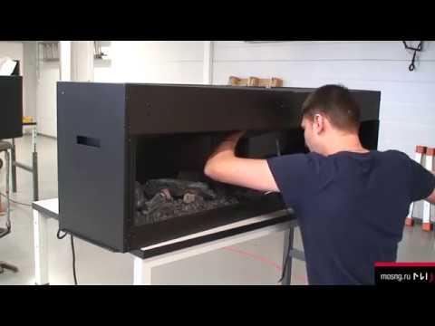 Очаг Dimplex Opti-V 2. Видео 3