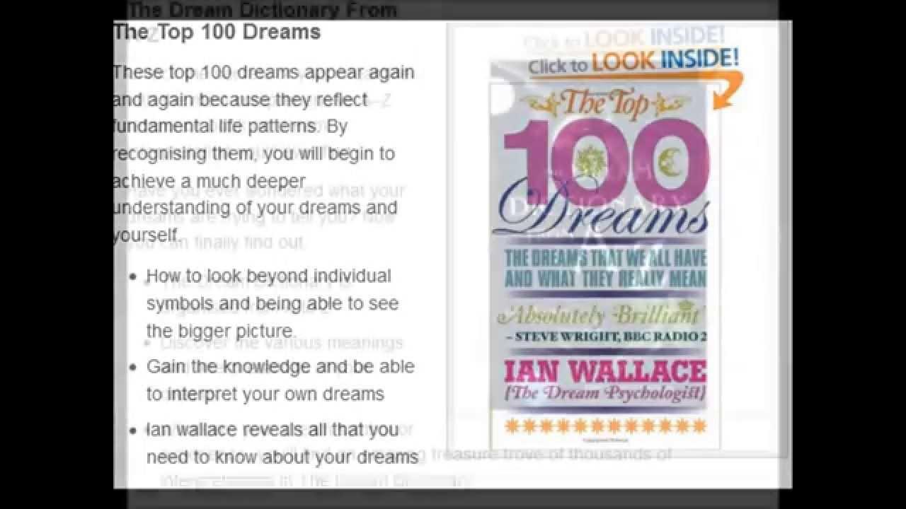 Top 3 best selling dream interpretation books youtube top 3 best selling dream interpretation books biocorpaavc