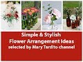 Minimal Stylish Flower Arrangements Inspo - Flower Decoration Ideas