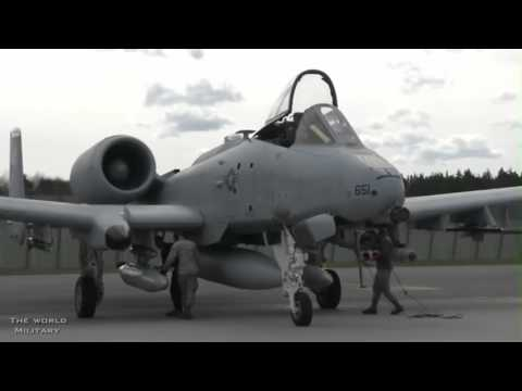 U.S. Air Force A 10 attack planes have arrived in Estonia