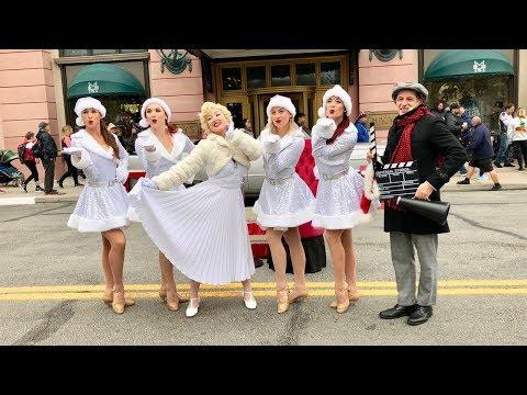 Marilyn Monroe Performing Santa Baby & Diamonds Are A Girl's Best Friend @ Universal Studios