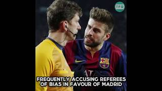 Pique vs Ramos | The real reason for the rivalry | HD