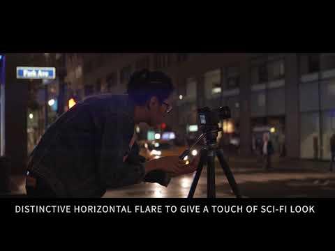 SIRUI 50mm Anamorphic Lens Video