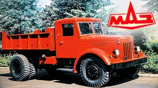 """История грузовиков МАЗ от 200-ки до """"СуперМаза"""" авто ссср #93"""