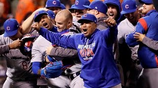 Cubs Shock Giants with 4-Run 9th inning to advance to 2016 NLCS