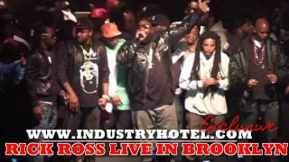 Rick Ross  performs MC Hammer & BMF LIVE in Brooklyn 1 of 9- Industryhotel.com