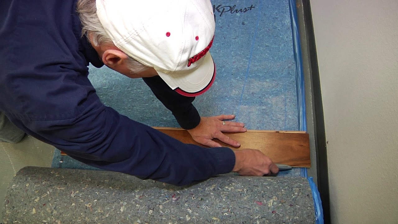 Laminate Flooring Installation Video