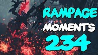 Dota 2 Rampage Moments Ep 234