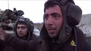هدوء حذر واشتباكات متقطعة بين القوات الأذرية والأرمينية