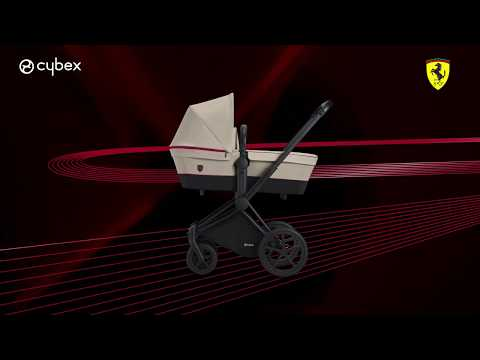 ✿蟲寶寶✿【德國Cybex】法拉利限量款!可換向/可平躺/高座椅/四輪避震 嬰兒手推車 Balios S 勝利黑