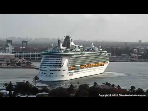 Liberty of the Seas Returns to Port Everglades for a Medical Emergency 03-11-2013