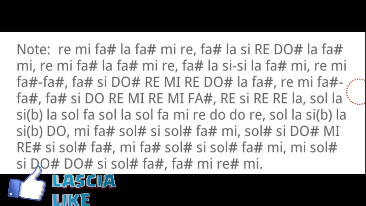 Famoso IN DREAMS (SIGNORE DEGLI ANELLI) FLAUTO DOLCE +NOTE - YouTube WU58