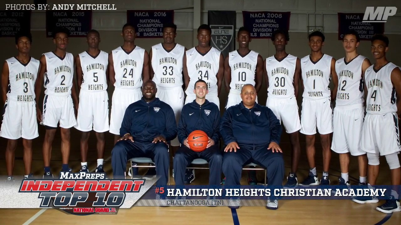 Maxpreps Independent Top 10 5 Hamilton Heights Christian Academy