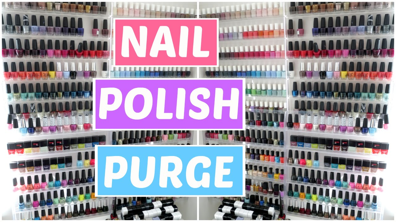 Nail Polish Declutter, Organization, and Collection ...