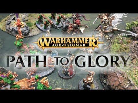 Warhammer: Age of Sigmar - Path to Glory Ep 01 - Bonesplitterz vs  Stormcast