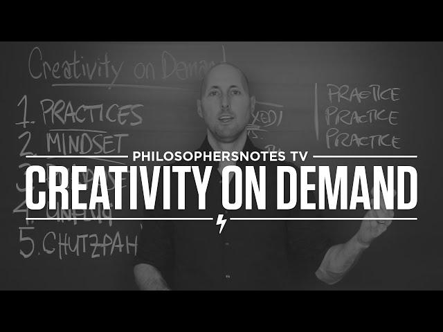 PNTV: Creativity on Demand by Michael Gelb