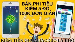 KIẾM 100K QUÁ ĐƠN GIẢN   Chia Sẻ App Chơi Game Kiếm Tiền Uy Tín Rút Đô Paypal