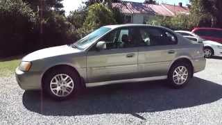 2003 subaru legacy outback sedan h6 3 0 automatic awd tour walk around for sale