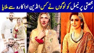 Special Moments Of Hamza Ali Abbasi And Naimal